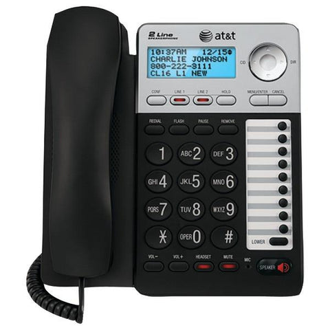 AT&T ATML17929 2-Line Speakerphone - Peazz.com
