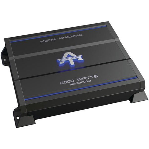 Autotek MMA2000.2 The Mean Machine 2-Channel Class AB Amp (2,000 Watts) - Peazz.com
