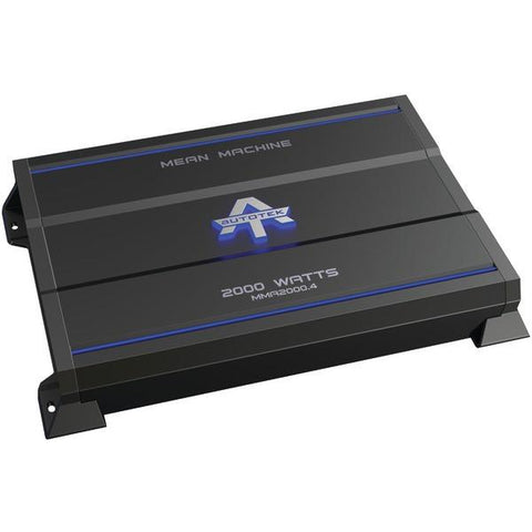 Autotek MMA2000.4 The Mean Machine 4-Channel Class AB Amp (2,000 Watts) - Peazz.com