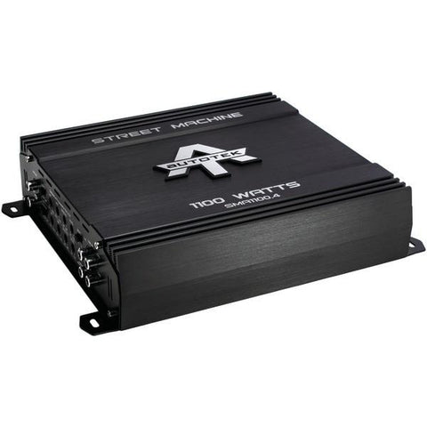 Autotek SMA1100.4 Street Machine 4-Channel Class AB Amp (1,100 Watts) - Peazz.com