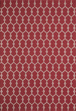 Momeni BAJA0BAJ-2RED6796 EGYPTIAN MACHINE MADE Baja Collection Red Finish Rugs