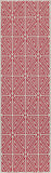 "Momeni BAJA0BAJ-4RED3B57 EGYPTIAN MACHINE MADE Collection Red Finish Rugs 3'11""X5'7"""
