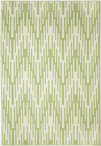Momeni BAJA0BAJ-6GRN6796 EGYPTIAN MACHINE MADE Baja Collection Green Finish Rugs