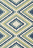 Momeni BAJA0BAJ-8MTI860D EGYPTIAN MACHINE MADE Baja Collection Multi Finish Rugs