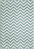 Momeni BAJA0BAJ-9BLU860D EGYPTIAN MACHINE MADE Baja Collection Blue Finish Rugs