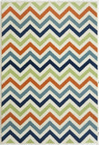 Momeni BAJA0BAJ-9MTI3B57 EGYPTIAN MACHINE MADE Baja Collection Multi Finish Rugs