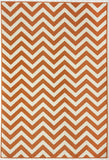 Momeni BAJA0BAJ-9ORG3B57 EGYPTIAN MACHINE MADE Baja Collection Orange Finish Rugs