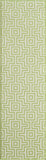 "Momeni BAJA0BAJ10GRN1837 EGYPTIAN MACHINE MADE Collection Green Finish Rugs 1'8""X3'7"""
