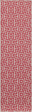 "Momeni BAJA0BAJ10RED2376 EGYPTIAN MACHINE MADE Collection Red Finish Runner 2'3""X7'6"""