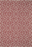 Momeni BAJA0BAJ10RED6796 EGYPTIAN MACHINE MADE Baja Collection Red Finish Rugs