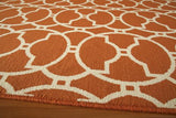 "Momeni BAJA0BAJ11ORG2376 EGYPTIAN MACHINE MADE Collection Orange Finish Runner 2'3""X7'6"""