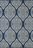 Momeni BAJA0BAJ17NVY2346 EGYPTIAN MACHINE MADE Baja Collection Navy Finish Rugs