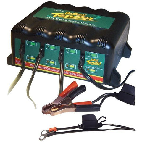 Battery Tender 022-0148-DL-WH 4-Bank Charger - Peazz.com