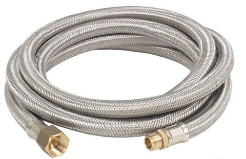 Bayou Classic 10' Stainless Braided Hose M7910  Braided Hose