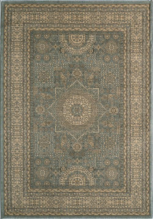 Momeni BELMOBE-03LBL93C6 Turkish Machine Made Collection L.Blue Finish Rugs 9'3