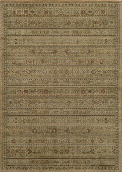 Momeni BELMOBE-04IVY5376 Turkish Machine Made Collection Ivory Finish Rugs 5'3