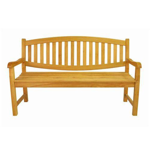 Anderson Teak BH-005O Kingston 3-Seater Bench - Peazz.com