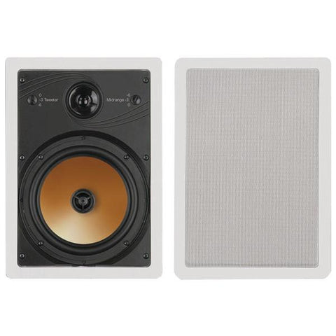 "BIC America HT8W 8"" 3-Way Acoustech Series In-Wall Speakers - Peazz.com"