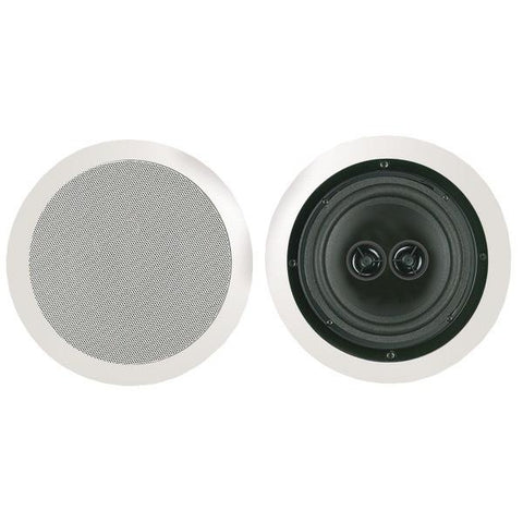 "BIC America MSR8D 8"" Muro Dual Voice-Coil Stereo Ceiling Speaker - Peazz.com"