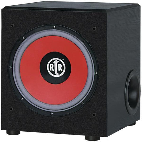 "BIC America RTR-EV1200 12"" 475-Watt RtR Eviction Series Front-Firing Powered Subwoofer - Peazz.com"