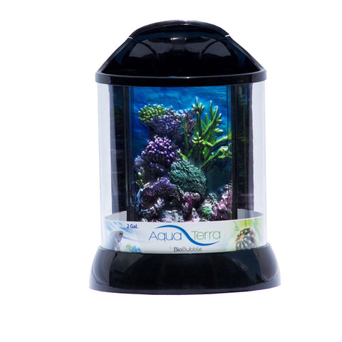 BioBubble BIO-20081201 3D Background for AquaTerra 2 Gallon