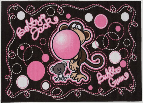 Fun Rugs BJ-24 3958 Bobby Jack Collection Don't Burst My Bubble Multi-Color - 39 x 58 in. - Peazz.com