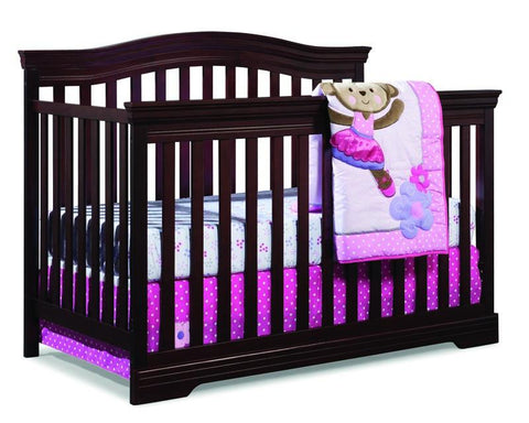 Broyhill Kids 04550-184 Broyhill Bowen Heights 4-In-1 Conv Crib-Cherry - Peazz.com