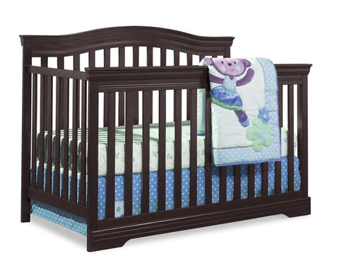 Broyhill Kids 04550-189 Broyhill Bowen Heights 4-In-1 Conv Crib-Espresso - Peazz.com