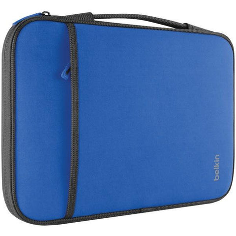 "Belkin B2B081-C01 11"" Netbook/Chromebook Sleeve (Blue) - Peazz.com"