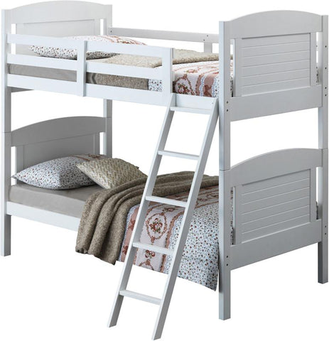Broyhill Kids 09620-111 Nantucket Bunk Bed-White (Kit) - Peazz.com