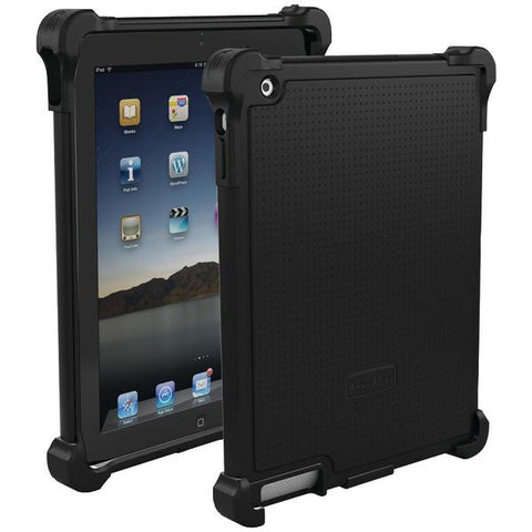 Ballistic Case Co. TJ0660-A06C iPad with Retina display/iPad 3rd Gen/iPad 2 Tough Jacket Case (Black) - Peazz.com