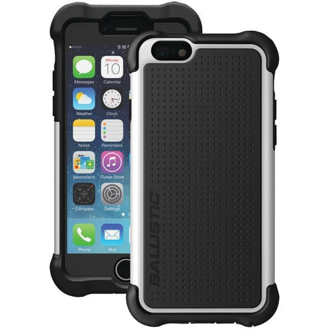 Ballistic Case Co. TX1416-A08C iPhone 6/6s Tough Jacket Maxx Case with Holster (Black/White) - Peazz.com