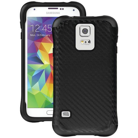 Ballistic Case Co. UR1340-A71C Samsung Galaxy S 5 Urbanite Case (Black Carbon Fiber/Black) - Peazz.com