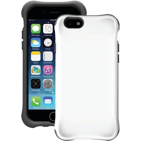 Ballistic Case Co. UR1413-A38C iPhone 6/6s Urbanite Case (White/Charcoal Gray) - Peazz.com