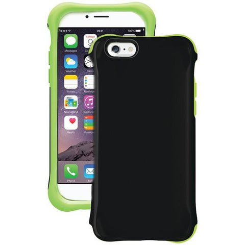 Ballistic Case Co. UR1413-A89C iPhone 6/6s Urbanite GLOW Case (Black/Green) - Peazz.com
