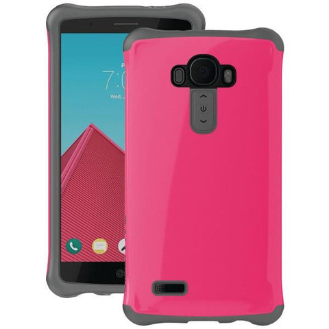 Ballistic Case Co. UR1625-B06N LG G4 Urbanite Case (Bright Pink/Dark Charcoal Gray) - Peazz.com