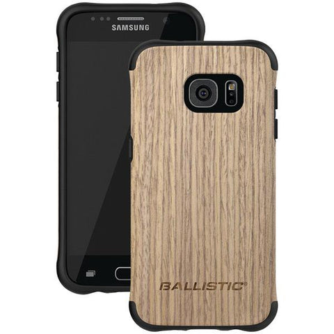 Ballistic Case Co. UT1688-B21N Samsung Galaxy S 7 Urbanite Select Case (Black/White Ash Wood) - Peazz.com