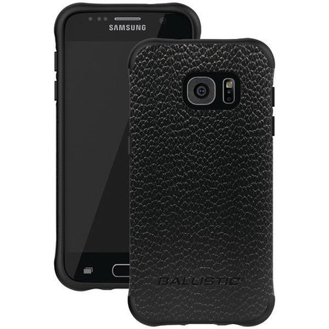 Ballistic Case Co. UT1688-B22N Samsung Galaxy S 7 Urbanite Select Case (Black/Buffalo Leather) - Peazz.com