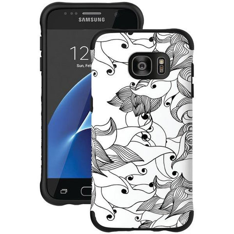 Ballistic Case Co. UT1688-B29N Samsung Galaxy S 7 Urbanite Select Case (Black Textured TPU with Spirit Pattern) - Peazz.com