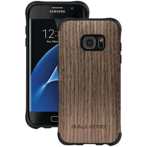 Ballistic Case Co. UT1689-B20N Samsung Galaxy S 7 edge Urbanite Select Case (Dark Ash Wood) - Peazz.com