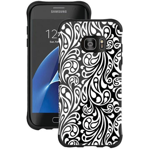Ballistic Case Co. UT1689-B31N Samsung Galaxy S 7 edge Urbanite Select Case (Black Textured TPU with Spirit Pattern) - Peazz.com