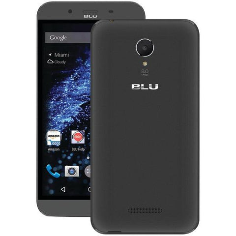 BLU Products D850QBK Studio XL Unlocked Smartphone (Black) - Peazz.com