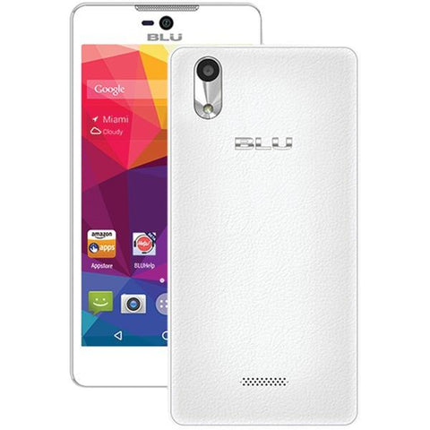 BLU Products D890UW Studio C 5+5 Smartphone (White) - Peazz.com