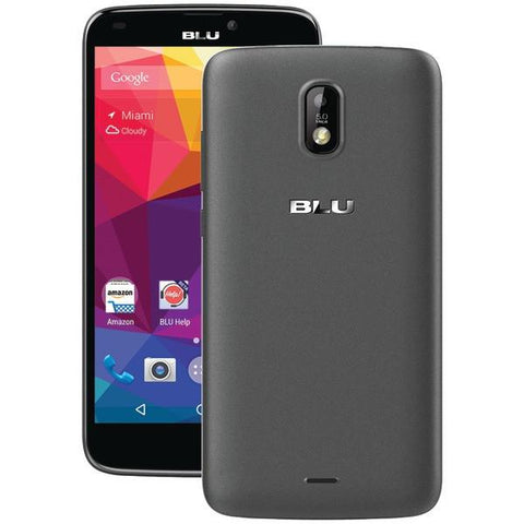 BLU Products S510QBK Studio G Plus Cellular Phone (Black) - Peazz.com