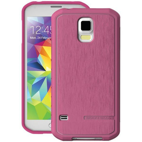 Body Glove 9409204 Samsung Galaxy S 5 SATIN Case (Raspberry) - Peazz.com