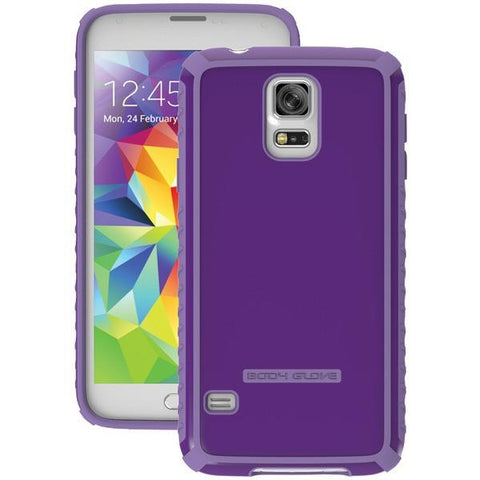 Body Glove 9410203 Samsung Galaxy S 5 Tactic Case (Purple) - Peazz.com