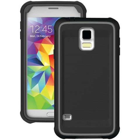 Body Glove 9420703 Samsung Galaxy S 5 ShockSuit Case (Black/Charcoal) - Peazz.com