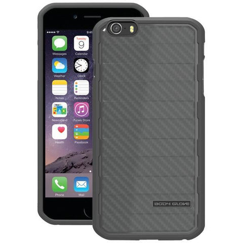 Body Glove 9446402 iPhone 6/6s RISE Case (Black Carbon Fiber) - Peazz.com