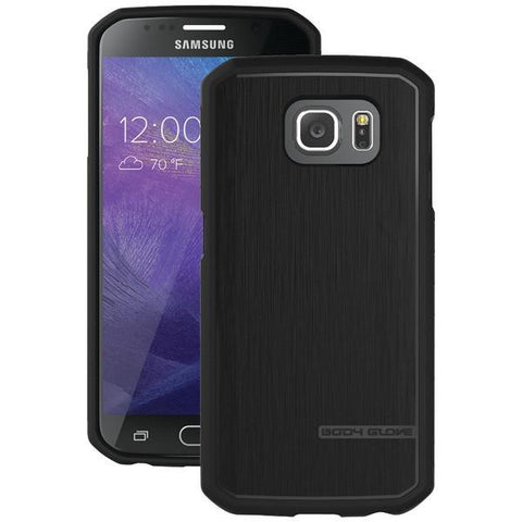 Body Glove 9486102 Samsung Galaxy S 6 Satin Case (Black) - Peazz.com