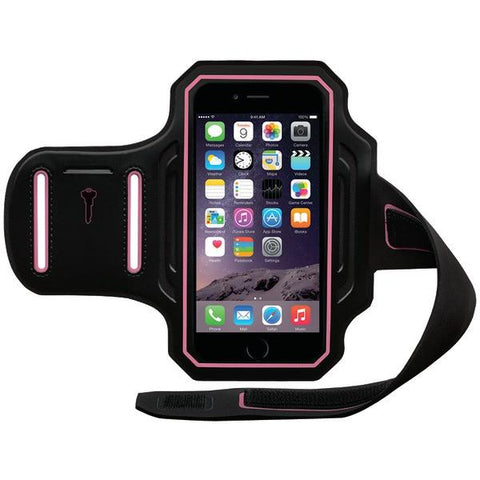 Body Glove 9487801 iPhone 6/6s ENDURANCE Armband (Black/Pink) - Peazz.com